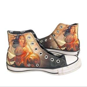 Converse DC Wonder Woman High Top Sneakers 6